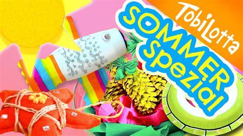 Sommer Basteln Ideen by 6 Bastelideen F 252 R Den Sommer Sommer Spezial Kinder Diy