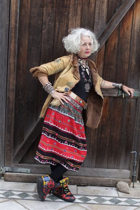 boho style for older women a collector s style advanced style