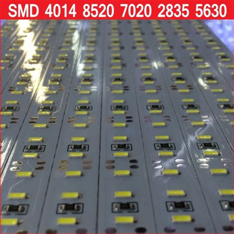 Murah Led Rigid Bar 12v 1m Smd 2835 Brilux 100cm epistar chip dc 12v 72 144 smd 5630 4014 2835 7020