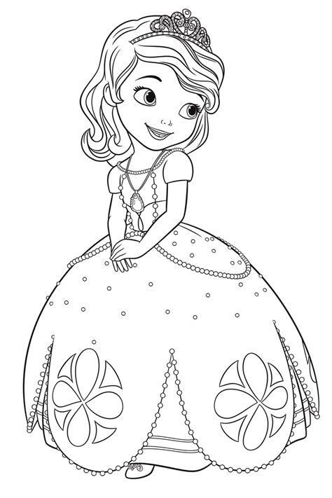 coloring book pages from pictures sofia the coloring pages for to print for free