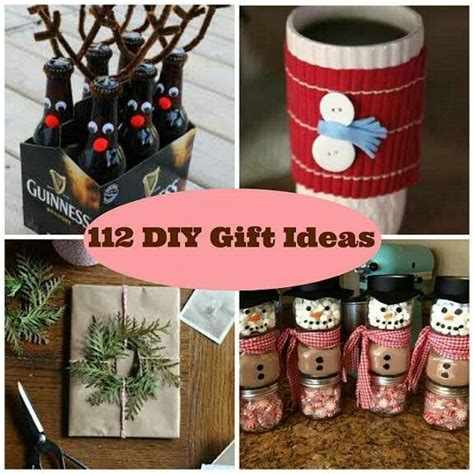 diy christmas gifts holidays pinterest