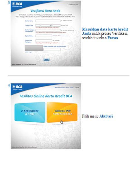 membuat kartu kredit online bca berbagi informasi cara aktivasi pin kartu kredit bca