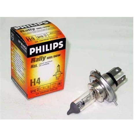 Lu Mobil Philips 100 90w Philips Headl H4 12569 Ev 12v 100 90w P43t B1