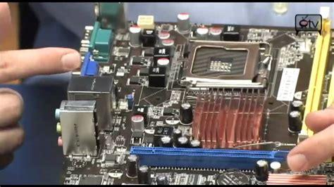reset bios vga asus p5kpl am se motherboard youtube