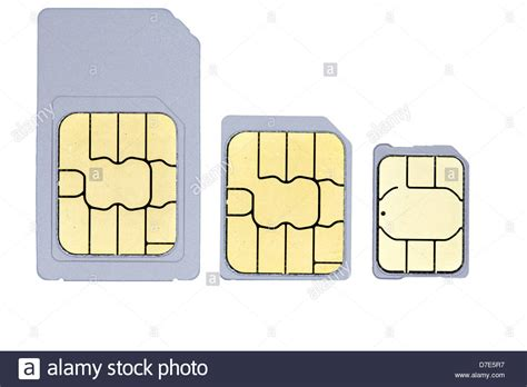 A Up Picture Of One Mini Sim One Micro Sim And One