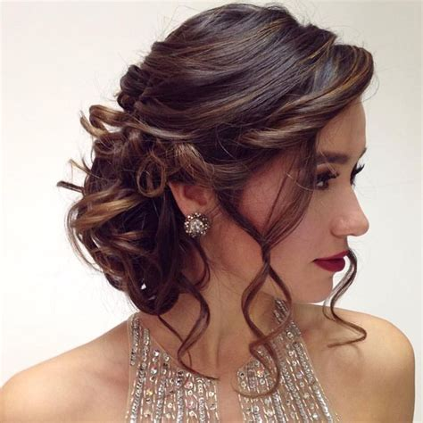 Quinceanera Hairstyle by Unique Quinceanera Hairstyles Www Pixshark Images