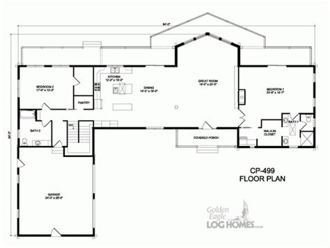 cp homes floor plans golden eagle log and timber homes floor plan details