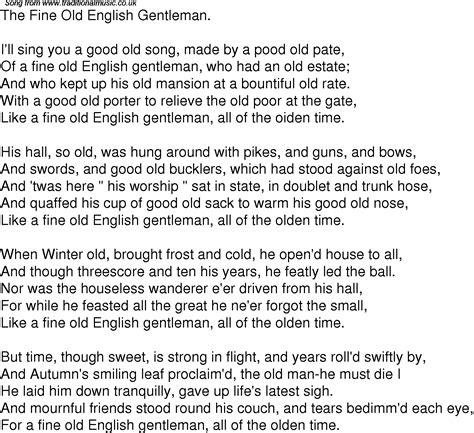 song lyrics in time song lyrics for 05 the gentleman