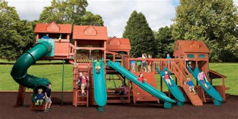 swing sets tulsa top 3 benefits of building a backyard play set for your