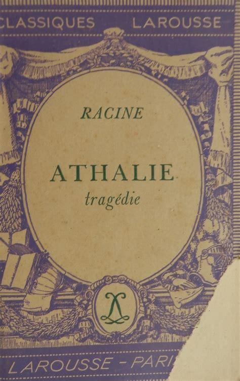 libro athalie folio theatre athalie livraddict