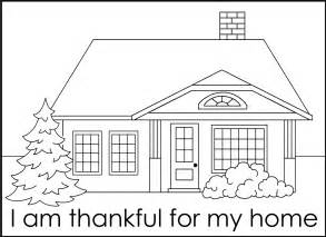 Galerry home coloring pic