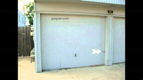 how to secure a garage door how to secure wood garage doors home security