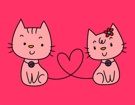 parecer dibujos dibujo de gatitos ju pintado por ivonneje en dibujos net