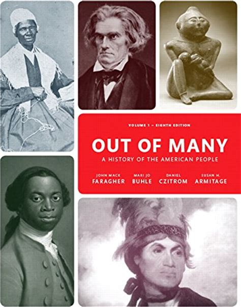cheapest copy of out of many volume 1 8th edition by