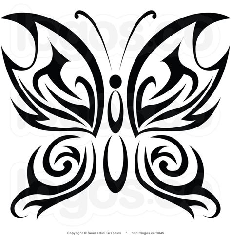 butterfly tribal tattoo images tribal butterfly design