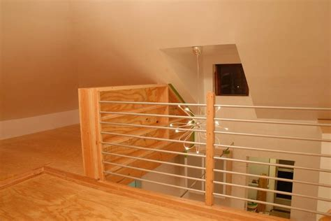 Plywood Stairs Design Plywood Loft With Bookshelf Modern Staircase New York By Yaron Kweller