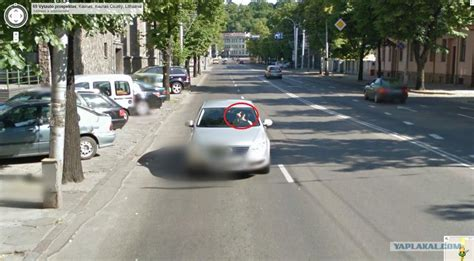 imagenes insolitas street view в литве уже действует google maps street view яплакалъ