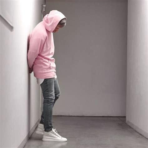 light pink hoodie mens aquatty chichimaison low pink hoodie fashion