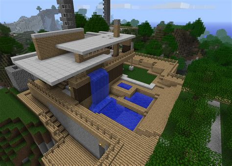 awesome home plans most coolest minecraft house images