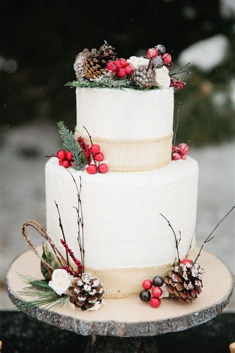 berry decorated wedding cakes  winter arabia weddings