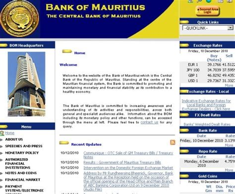 bank of mauritius bank of mauritius the central bank of mauritius port