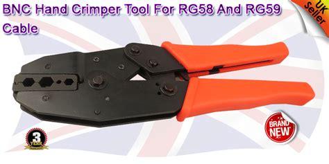 Tang Crimping For F Bnc Tnc N Model Crimping Gepeng Merk Dekko network electrical bnc cctv rg58 rj45 11 crimping crimper tool cable cutter ebay