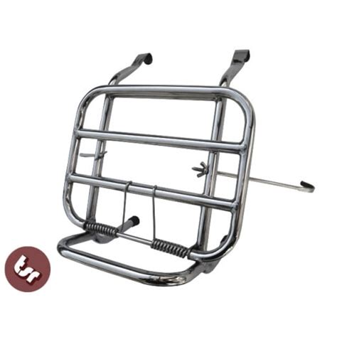 Front Carrier Rack by Vespa Stainless Steel Front Luggage Rack Carrier Px Vbb