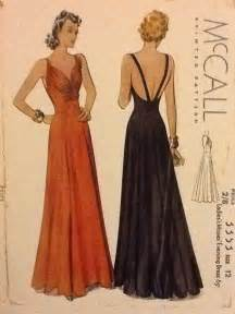 1930s evening gowns and bodice on pinterest