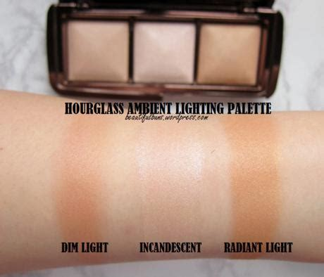 hourglass ambient lighting palette swatches hourglass ambient lighting palette paperblog