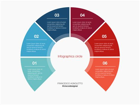 Infographic Circle Sketch Template Freebie Download Sketch Resource Sketch Repo Circle Infographic Template