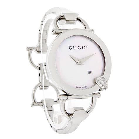 Safira Gucci Oz rel 243 gio feminino gucci 122 chiodo diamante ya122505 r 5 971 26 em mercado livre