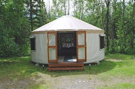 Big W Toaster Nesslin Lake Campground Yurt Rentals Waskesiu Wilderness