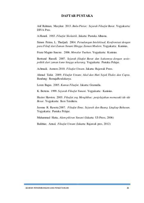 Buku Pintar Sejarah Filsafat Barat Press 1 makalah sejarah perkembangan ilmu pengetahuan zaman