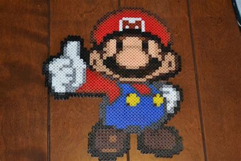 perler bead paper 458 best perler mario images on beading