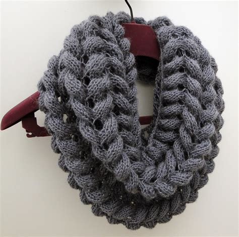 3 rabbits patterns scarf cowl knitting pattern