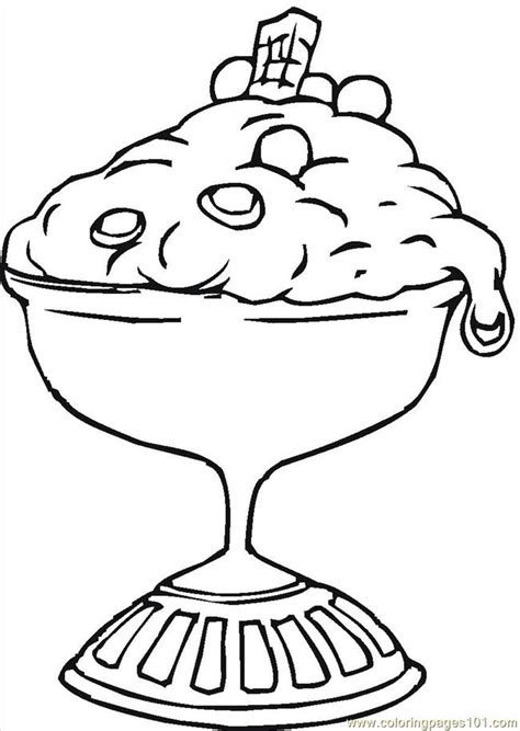 Dessert Coloring Pages 16129328 coloring page free desserts coloring pages