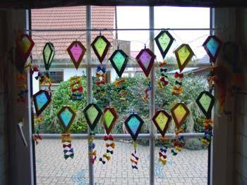 Herbstdeko Fenster Drachen by Drachen Basteln Suche Schule