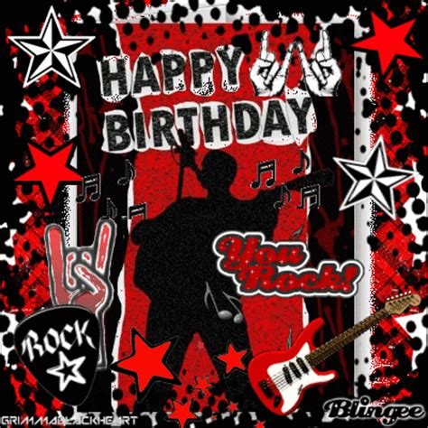 happy birthday images with rock happy birthday our rockstar ankit m o 4529674