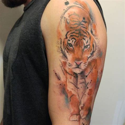 watercolor tattoos ri 43 best images about tiger on