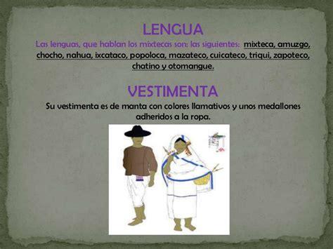 la lengua como base de la cultura monografias mixteca