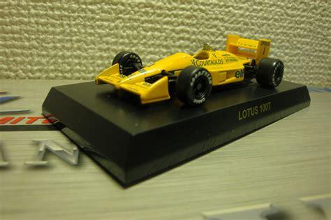 Kyosho 1 64 Lotus 98t 11 andre takita kyosho f1 series lotus