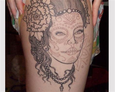 latina thigh tattoo 100 famous latino tattoos designs golfian com