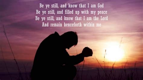 be still and know that i am god tattoo be ye still and that i am god lyrics