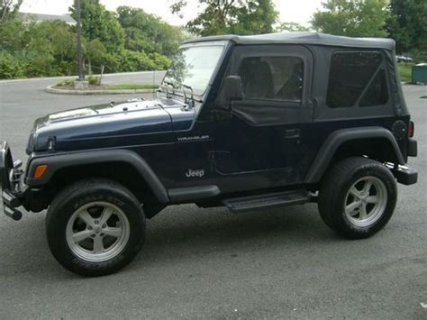 1997 Jeep Wrangler Soft Top Find Used 1997 Jeep Wrangler Tj 4 Cylinder Automatic