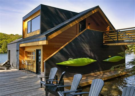 wooden boat house altius architecture s wooden boathouse puts a contemporary