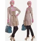 Model Baju Batik Kombinasi Modern Terbaru 2016  HD Wallpapers