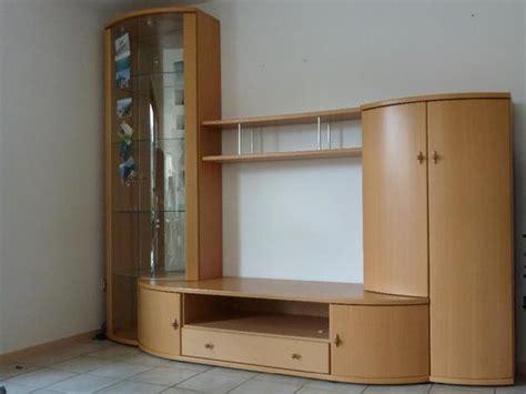 wohnzimmerschrank 2 50 m moderner wohnzimmerschrank massiv buche mit runden t 252 ren