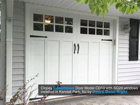 Clopay Garage Door Opener Doors Done Right Garage Doors And Openers Clopay Coachman Garage Door Installation In