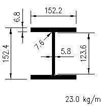 Uc Steel Section by Universal Columns Bs5950 Blue Book Free Cad Blocks