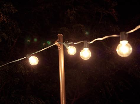 hanging patio lights string bright july diy outdoor string lights